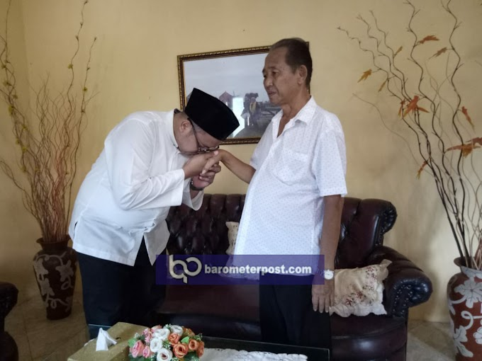 Daftar Ke KPU Vian Mohon Doa Restu Ke Paman