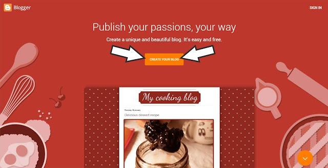 Create new blogger
