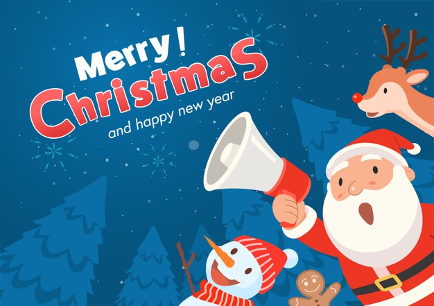 Happy Merry Christmas & Happy New Year 2021 Wishes Images & Wallpapers