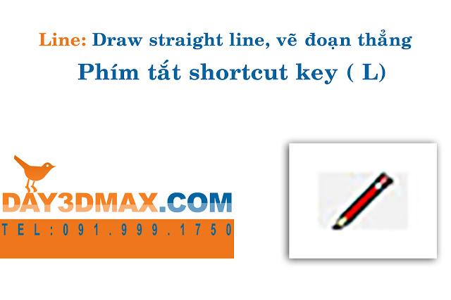 Học 3d sketchup 5 hướng dẫn  lệnh vẽ đường thẳng learning sketchup study 3d how to use line tool to draw