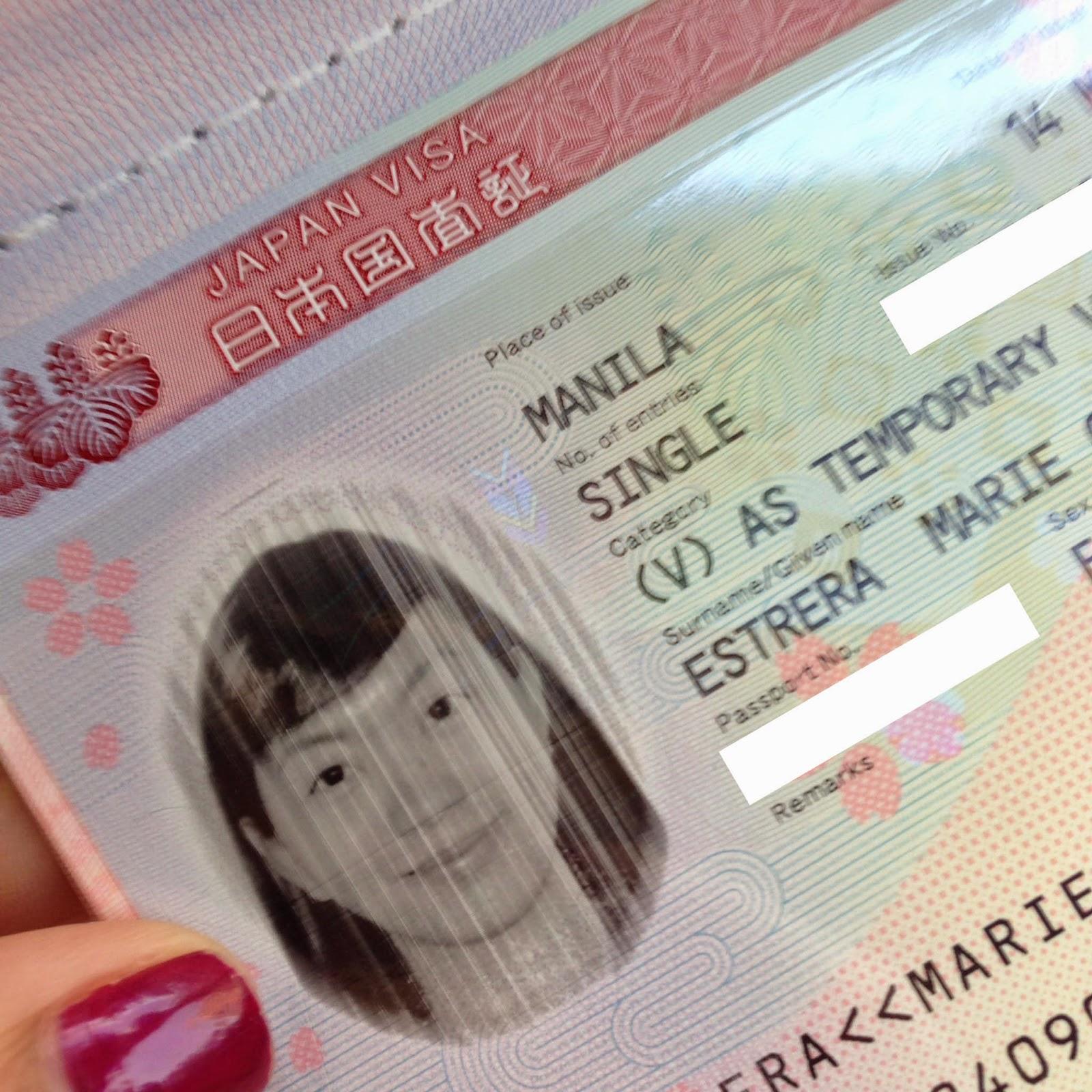 Japanese Tourism Visa