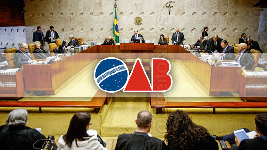 oab stf votos ministros plenario virtual