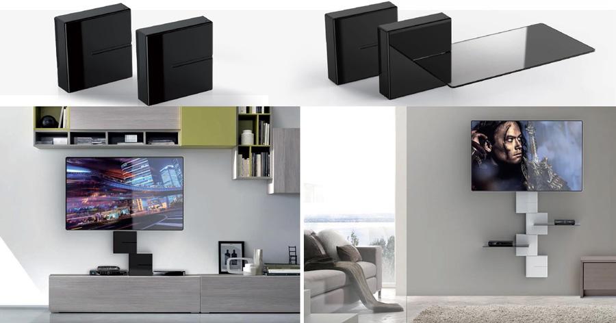Arredo e design nasce ghost cubes di meliconi innovativo for Arredo tv design