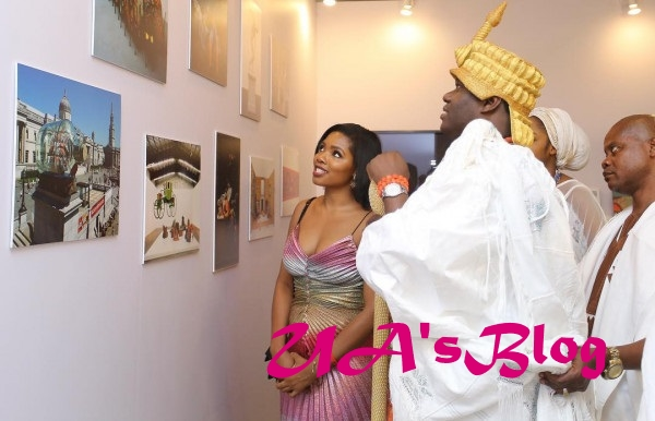 Ooni Of Ife Makes First Public Appearance With His Queen Prophetess Naomi