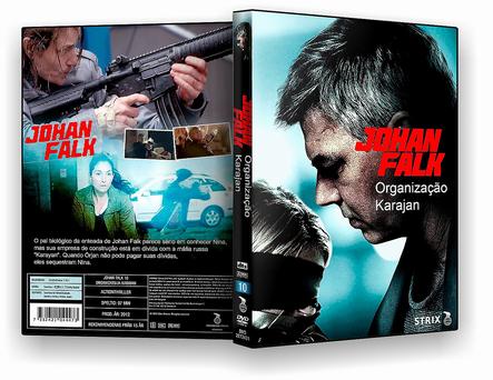 DVD JOHAN FALK - ORGANIZAÇÃO KARAJAN 2019 - ISO