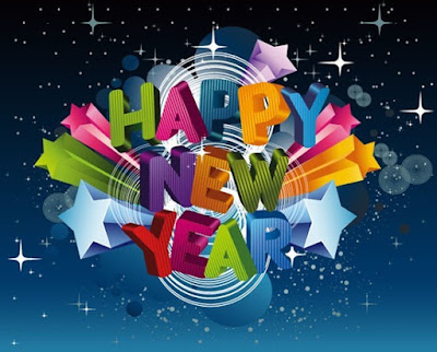 Happy new year 3d image wallpaper
