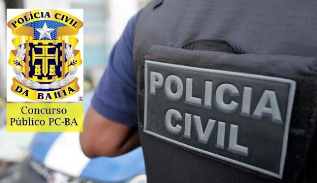 edital Concurso Polícia Civil  da Bahia saeb 2018  PCBA