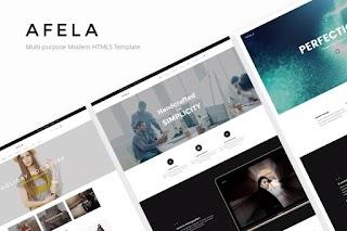 Afela Flexible Multi Purpose HTML5 Templates