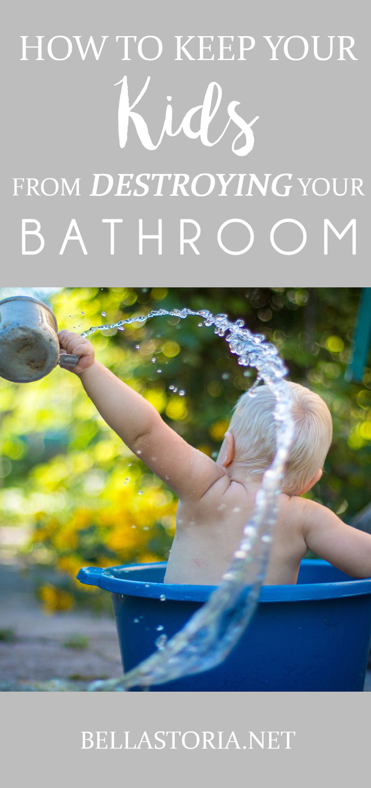 Bella storia quick tip tuesday keeping a clean bathroom for How to keep a bathroom clean