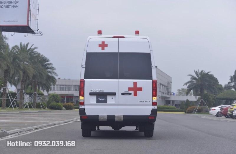 Xe cứu thương Solati phiên bản 2021