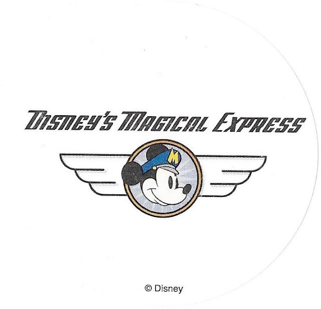Disney's Magical Express Sticker Walt Disney World