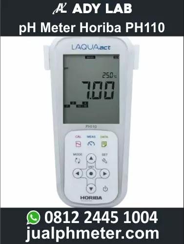 pH Meter Horiba PH110 | Ady Lab Jual pH Meter Digital Air untuk Industri, Air Bersih, Air Limbah