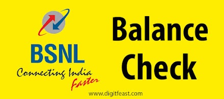 How to check BSNL balance, data balance, BSNL balance check number