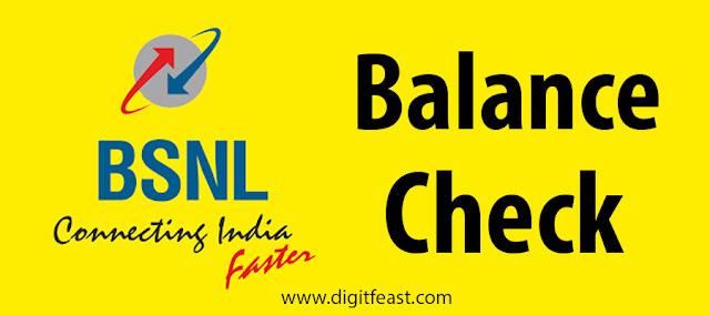 How to check BSNL balance