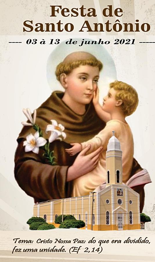 De 03 a 13 de junho será realizada a Festa de Santo Antônio de Cariré-CE; confira a programação