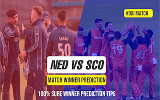 NED vs SCOT 1st Match 100% Sure Match Prediction Tips
