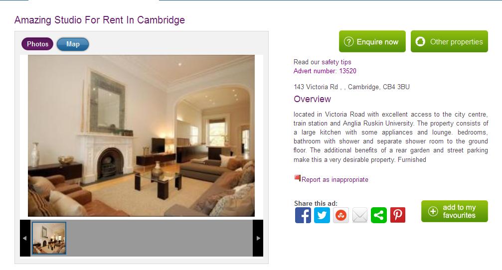 Craigslist cambridge uk