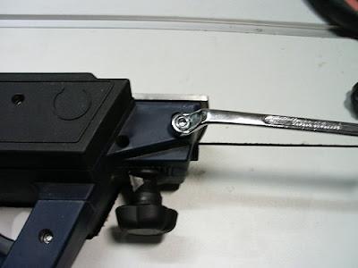 Elektrohobel Platte M6 Gewindestange