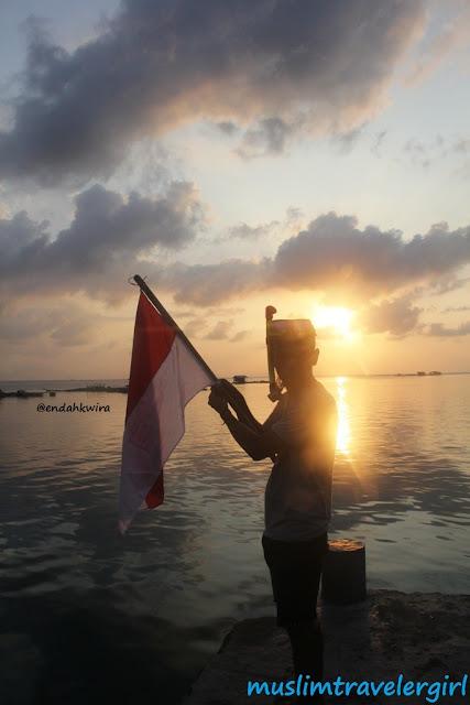 traveling ke lampung, kemping di pulau pahawang