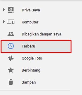 Fitur Terbaru pada google drive, lihat file