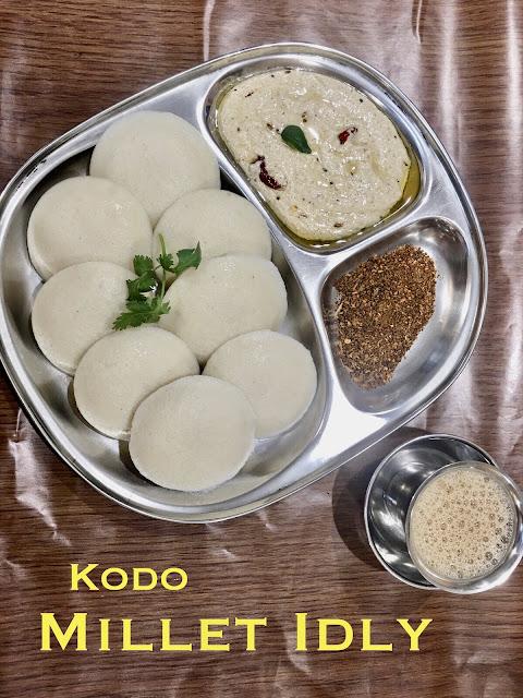 Millet Idly ~ Kodo Millet
