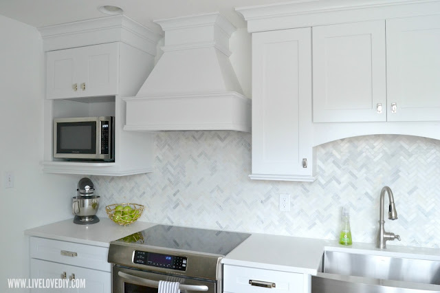 kitchen makeover hood