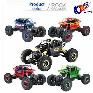 Mobil Remot 4WD Rock Crawler Hero Car Offroad 2.4Ghz 1 : 18