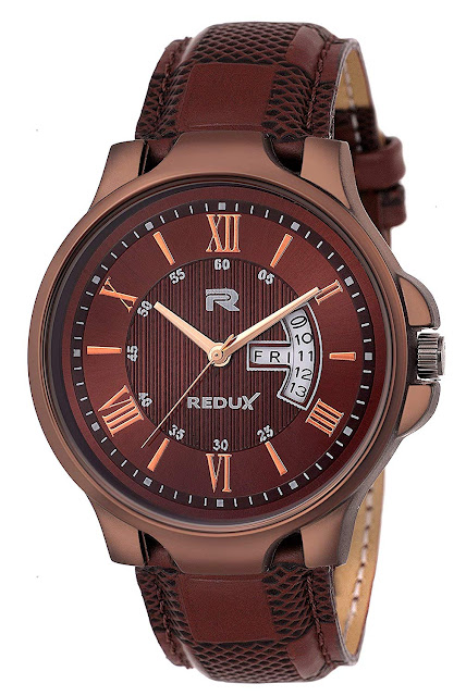 Redux Analogue Brown Dial Men's & Boy's Watch