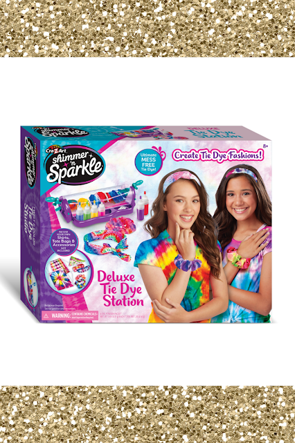 Crazart Shimmer n Sparkle Tie Dye Station