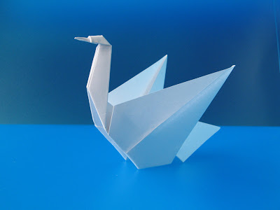 Origami Cigno - Swan © by Francesco Guarnieri