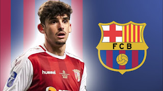 Barcelona new boy Trincao wins 'best goal creator' award after terrific season in Portugal