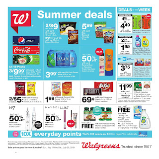 Walgreens Weekly Ad April July 14 - 20, 2019
