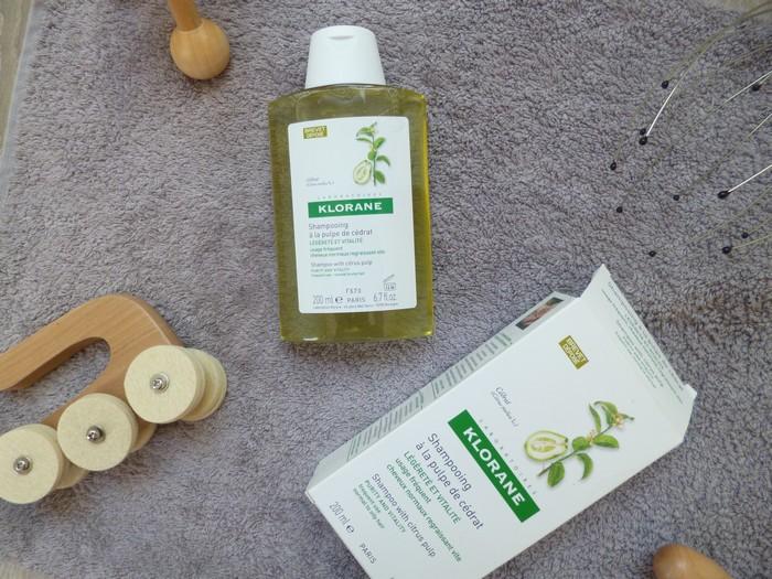 shampoing pulpe cédrat klorane