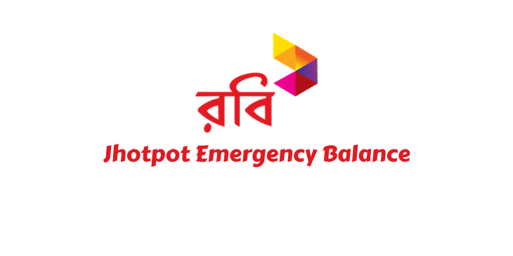Robi Jhotpot Emergency Balance