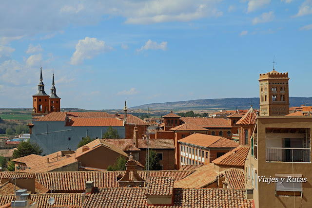 Vistas desde arriba de la Torre de El Salvador, Teruel