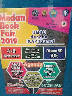 Pameran Buku di Kampus UMSU