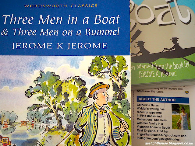 gaslighthouse.blogspot.com Practical Boat Owner, writing, Three Men in a Boat, Jerome K Jerome, boating, River Thames, Berkshire, books, British, fiction, Great Britain