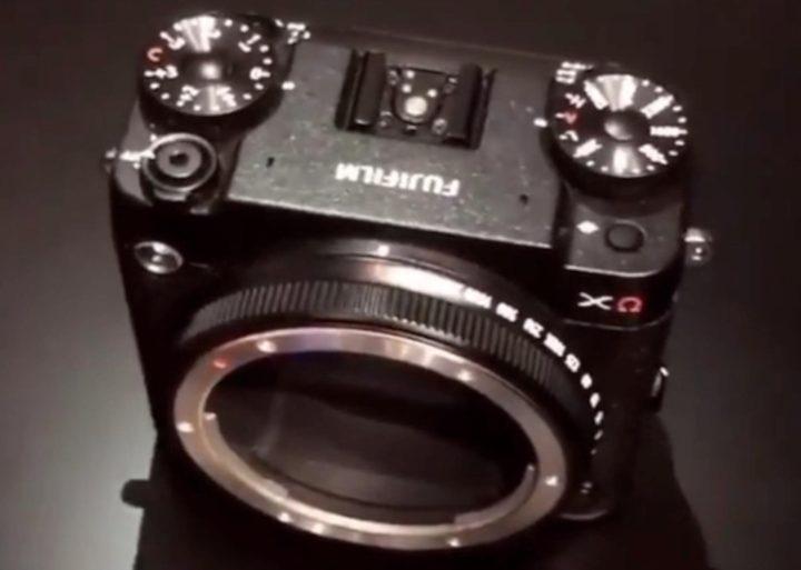 Макет модульной камеры Fujifilm GFX
