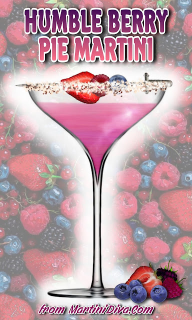 Humble Berry Pie Martini Cocktail Recipe