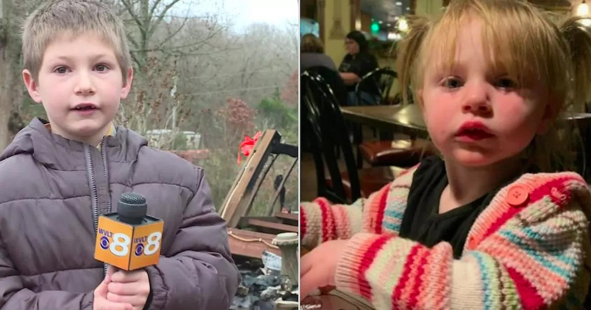 Heroic 7-Year-Old In Tennessee Saves His Baby Sister From A House Fire That Destroyed His Family's Entire Home