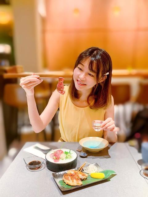 Hara, 可带宠物, japanese, japanesefood, 佐敦美食, tuna, 西餐, hara.kitchen, girlsssstory, 日本料理, pet, sashimi, foodie, hellohungary,