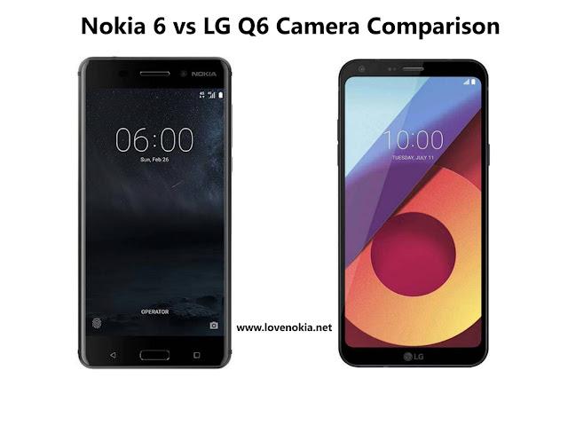 Nokia 6 vs LG Q6 Camera Comparison