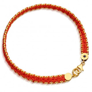 Woven Biography Bracelet Orange - Astley Clarke Outlet Sale