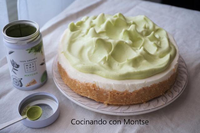 Tarta De Limón Con Té Verde Matcha