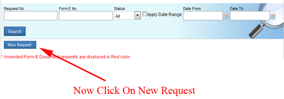 Form-E-New-Request-in-Weboc