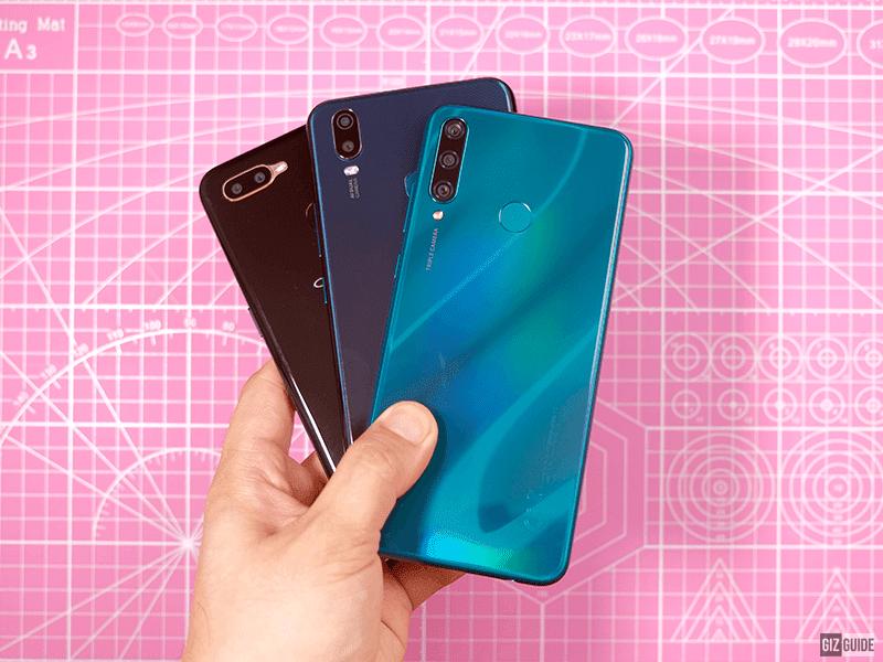 Huawei Y6p vs vivo y11 vs OPPO A5s
