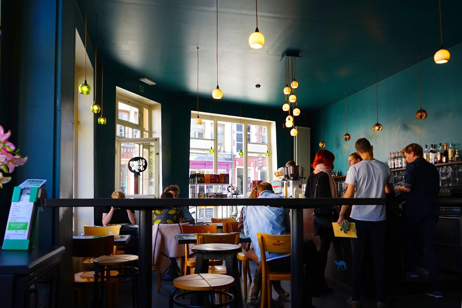 Le Chameau Bleu - Salle du Simons Says Brasserie à Gand Belgique
