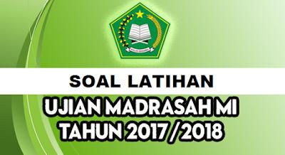Latihan Soal UAMBN MI Tahun 2018