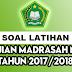Kumpulan Prediksi Soal UAMBN MI Tahun Pelajaran 2017/2018