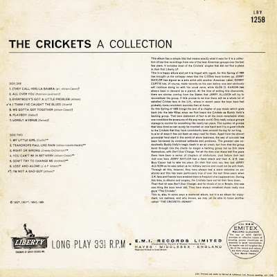 The Crickets - A Collection (1965)